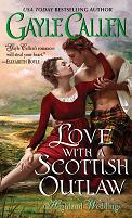 cover of Love with a Scottish Outlaw