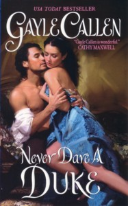cover of Never Dare a Duke